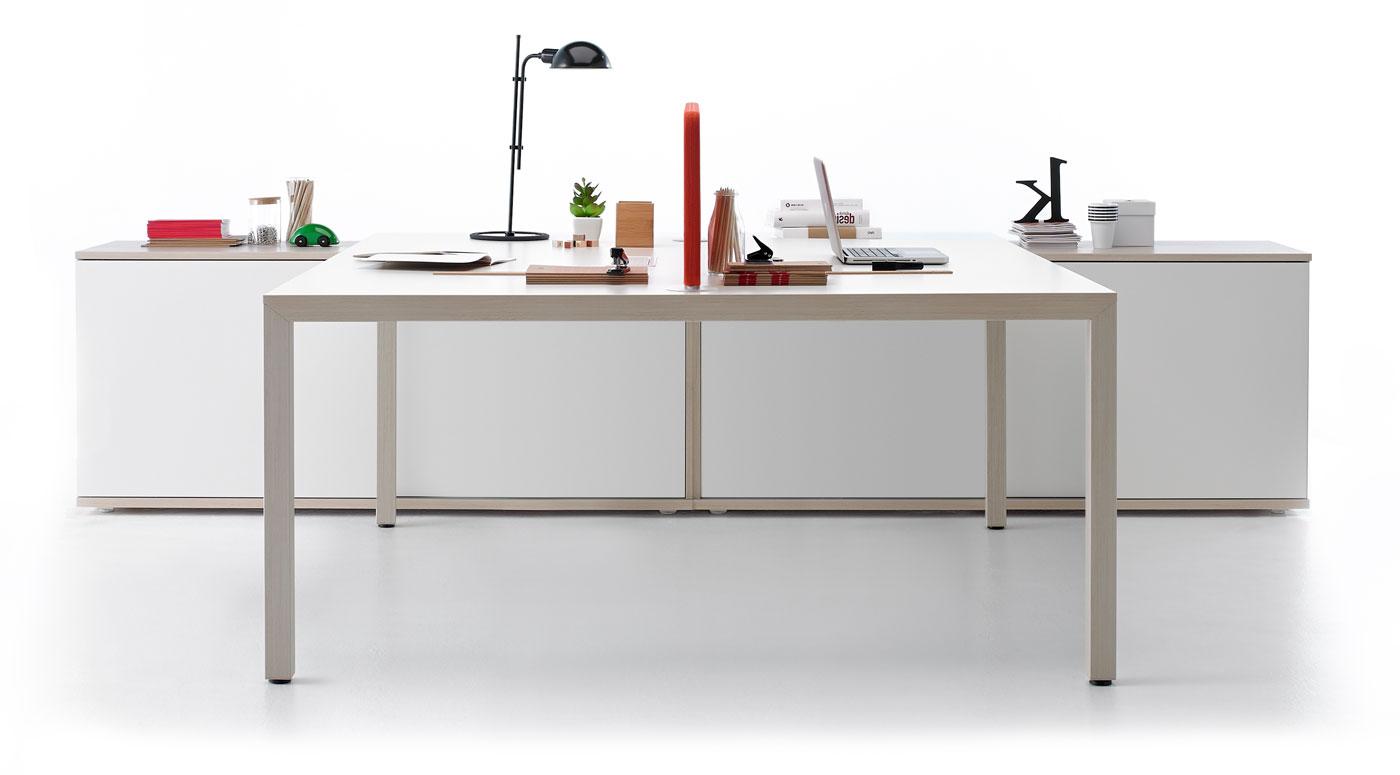 Mesa Oficina E9dx Prisma Mesas De Oficina Con Un Diseà O Inspirado En El Estilo Nà Rdico