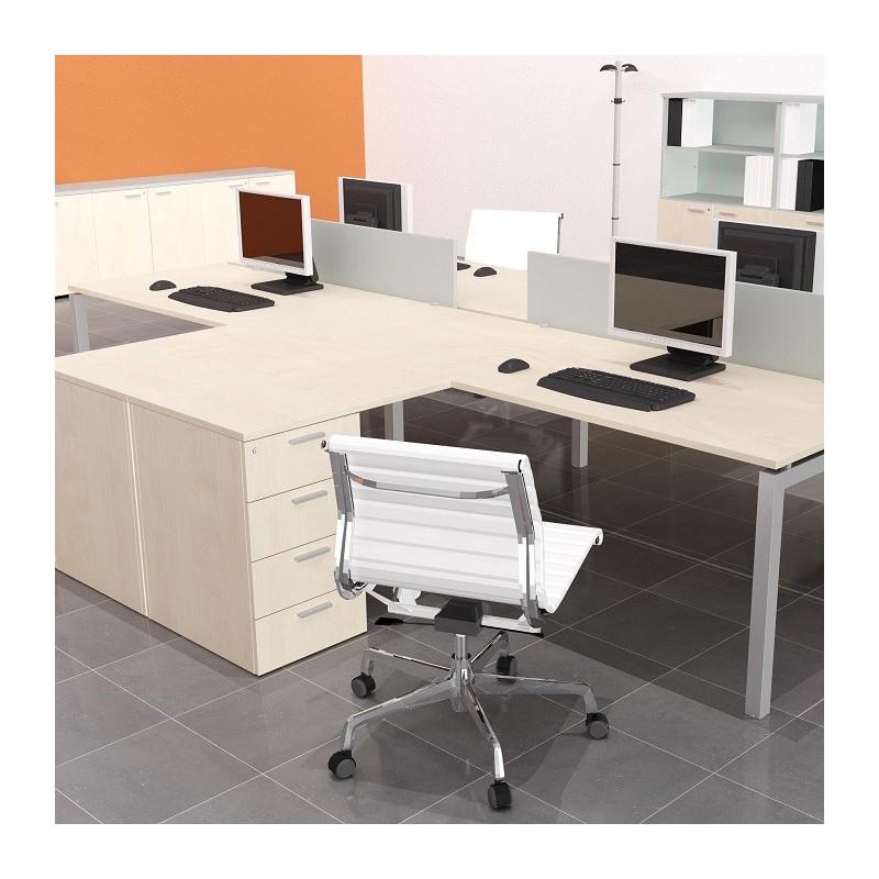 Mesa Oficina Nkde Ala Con Cajonera Para Mesa De Oficina Mobiliario De Oficina