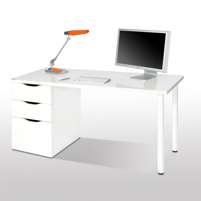 Mesa ordenador Barata Bqdd Mesa Escritorio athena Reversible Mesa De Estudio Barata Fanmuebles