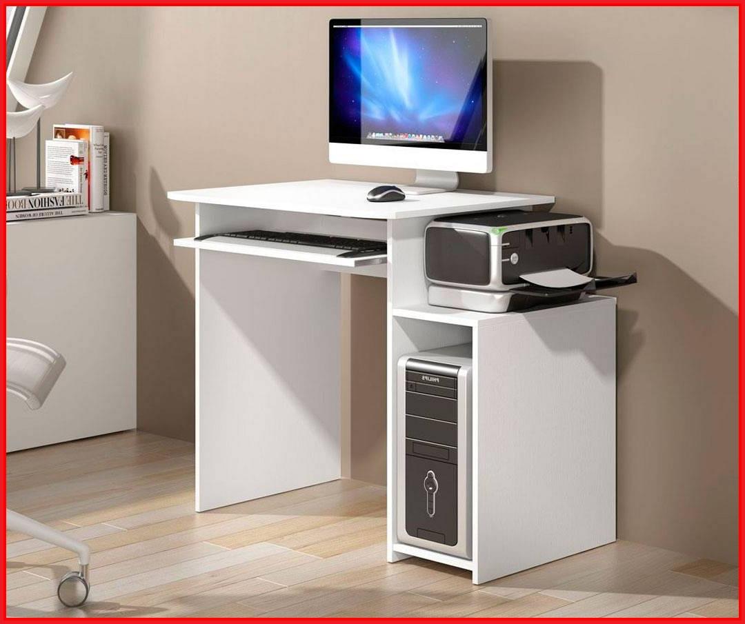 Mesa ordenador Blanca Dwdk Mesa De ordenador Blanca Mesa ordenador Blanca Rapimueble