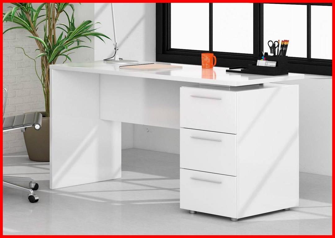 Mesa ordenador Blanca Ipdd Mesa ordenador Blanca Rapimueble Mesa De Escritorio En Blanco