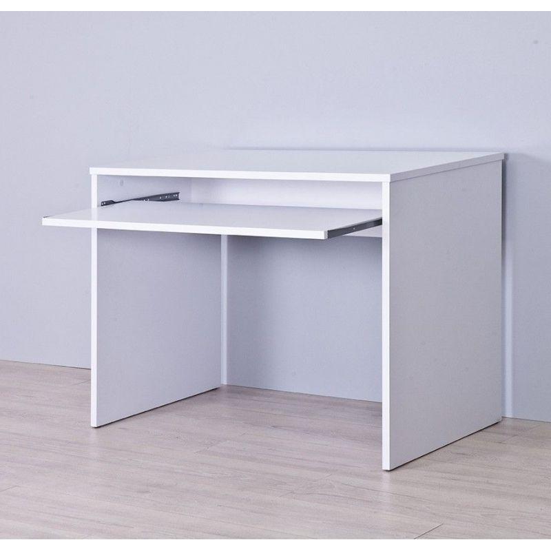 Mesa ordenador Blanca Q0d4 Mesa De ordenador Barata Ref 900 Bandeja Extraible topkit