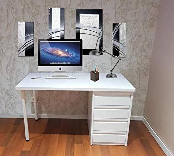 Mesa ordenador Blanca Rldj Grupo Julio Diaz Mesa De Escritorio Blanca Montada Lista Para Ser