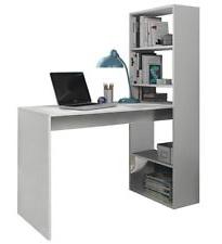 Mesa ordenador Blanca S1du Escritorio De Pc Color Principal Blanco Para El Hogar Ebay