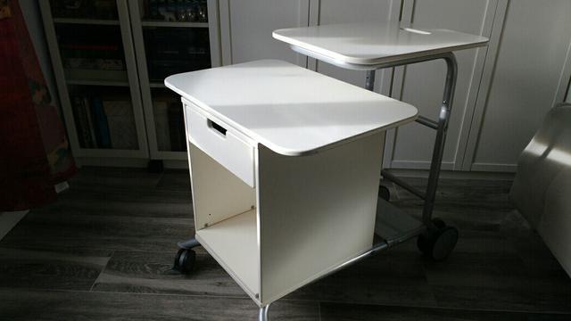 Mesa ordenador Blanca X8d1 Mil Anuncios Mesa ordenador Ikea Blanca