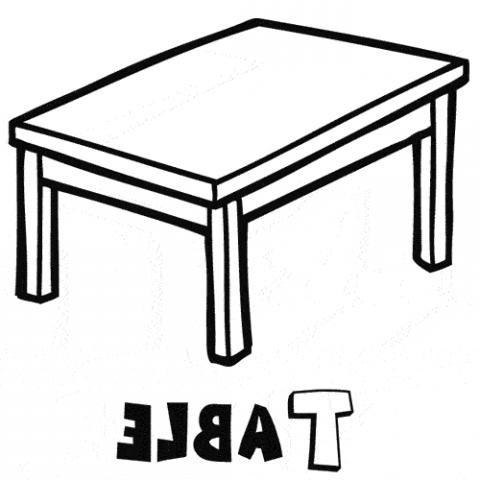 Mesa Para Dibujar Irdz Table Dibujos Para Colorear
