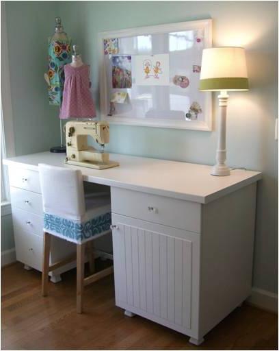 Mesa Para Maquina De Coser Ikea Ffdn Algunos Muebles De Ikea Customizados
