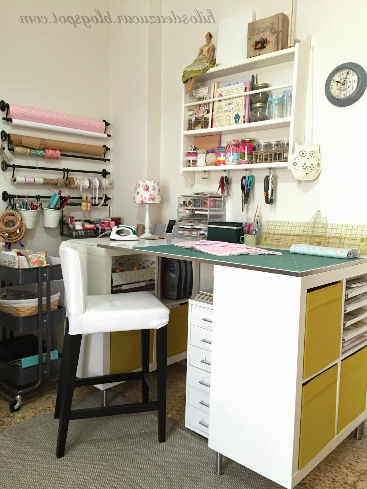 Mesa Para Maquina De Coser Ikea T8dj Hilos De Azúcar Mi Habitacià N De Costura Craftroom O Simplemente