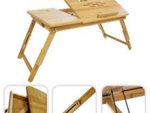 Mesa Para Portatil Cama Gdd0 Mesa Auxiliar De Bambú Natural Reclinable Para Portatil Cama sofa