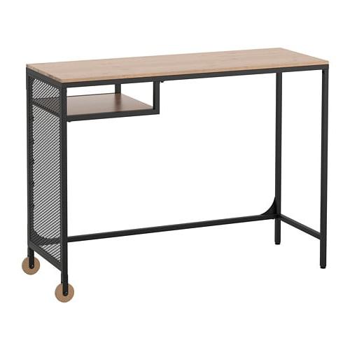 Mesa Para Portatil Ikea H9d9 Fjà Llbo Mesa Para Portà Til Negro 100 X 36 Cm Ikea