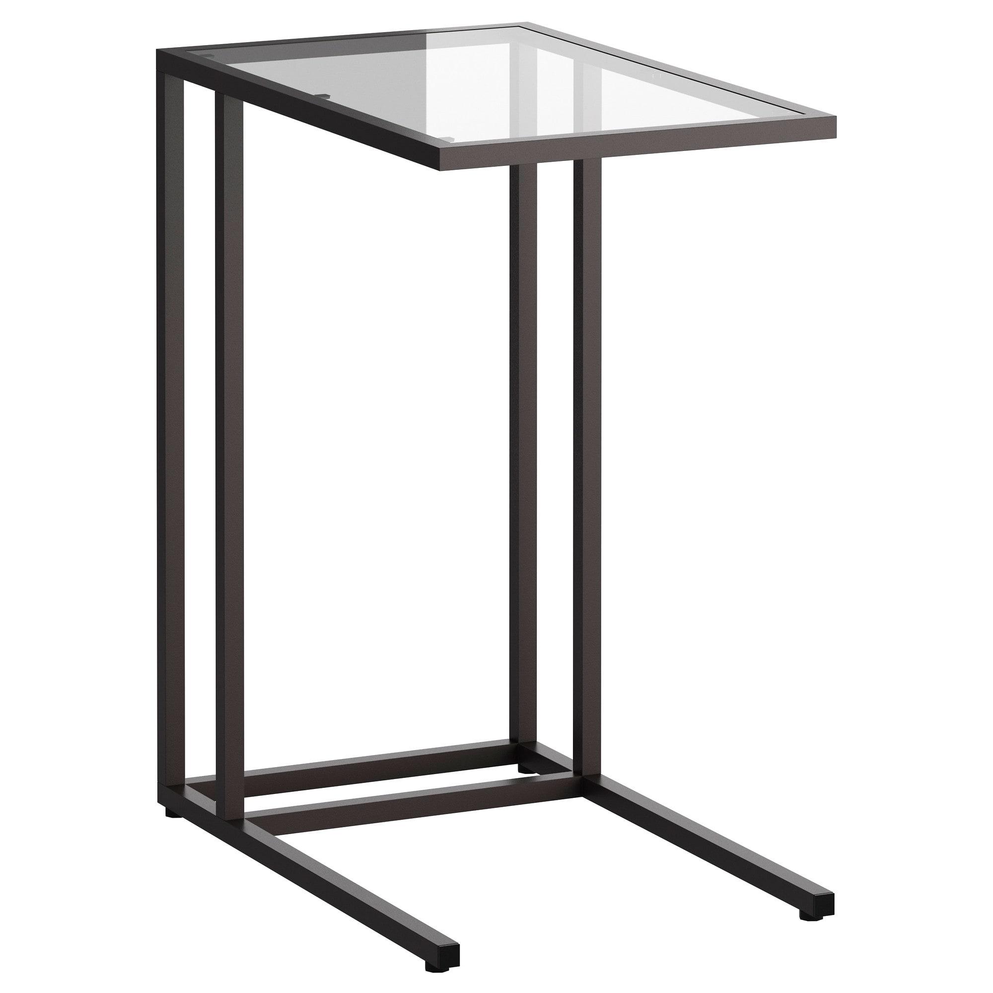 Mesa Para Portatil Ikea O2d5 Vittsjà soporte Portà Til Negro Marrà N Vidrio 35 X 65 Cm Ikea