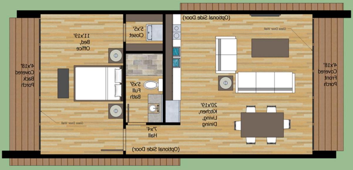 Mesa Pequeña Extensible E9dx Dormitorio 5x5