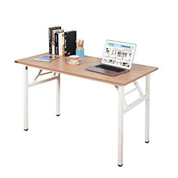 Mesa Pequeña Plegable E9dx Need Mesa Plegable 120x60cm Mesa De ordenador Escritorio De Oficina