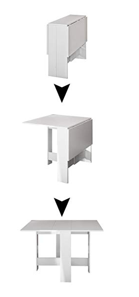 Mesa Pequeña Plegable Etdg Modern Loft Mesa Plegable Trick A1 Hogar