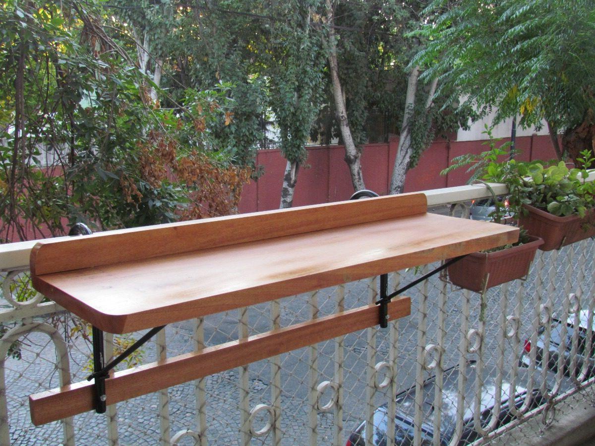 Mesa Plegable Balcon Bqdd Mesa Barra Plegable Rebatible Para Balcon Madera Y Hierro 3 600