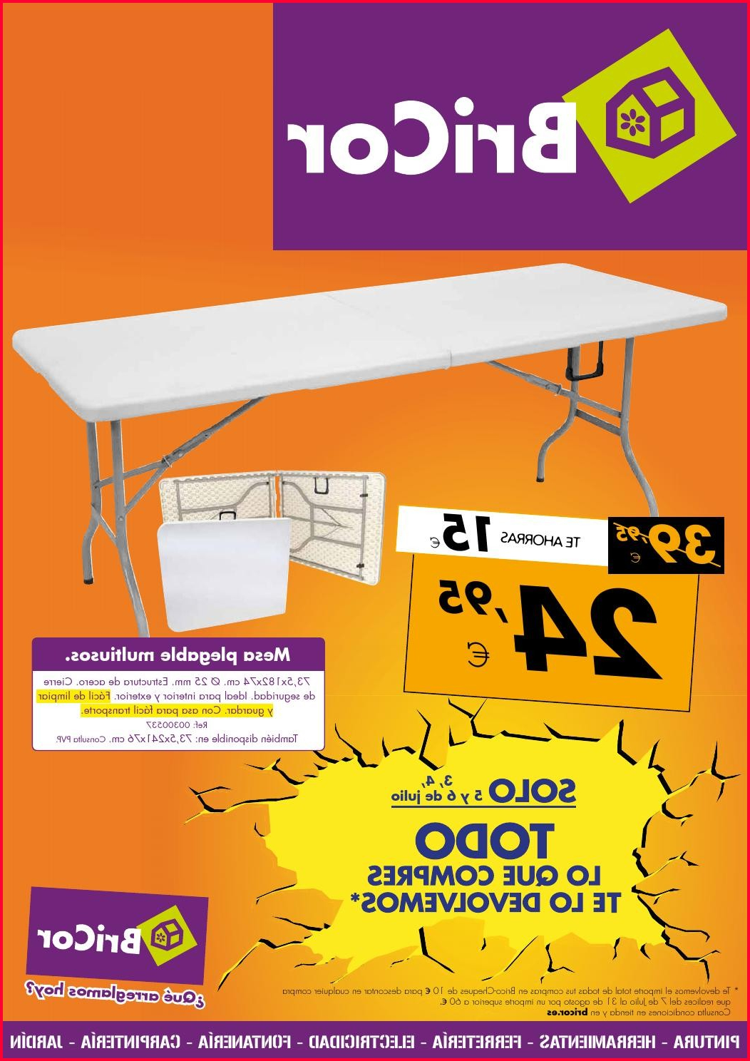 Mesa Plegable Bricor Y7du Mesa Plegable Bricor Bricor by Losdescuentos issuu