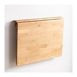 Mesa Plegable Cocina Ikea O2d5 norbo Mesa Abatible De Pared Abedul 79 X 59 Cm En 2018 Mi Casa
