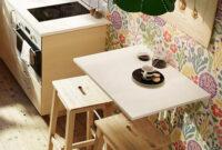 Mesa Plegable Cocina Ikea Wddj Ideas Para Cocinas Pequeà as Mesa Abatible norbo De Ikea