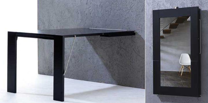 Mesa Plegable De Pared S1du Una Mesa Plegable Que Se Cuelga En La Pared Mesa Cocina Table