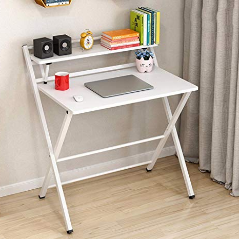 Mesa Plegable Estudio Qwdq Zhirong Escritorio Plegable Mesa De Estudio Plegable Simple