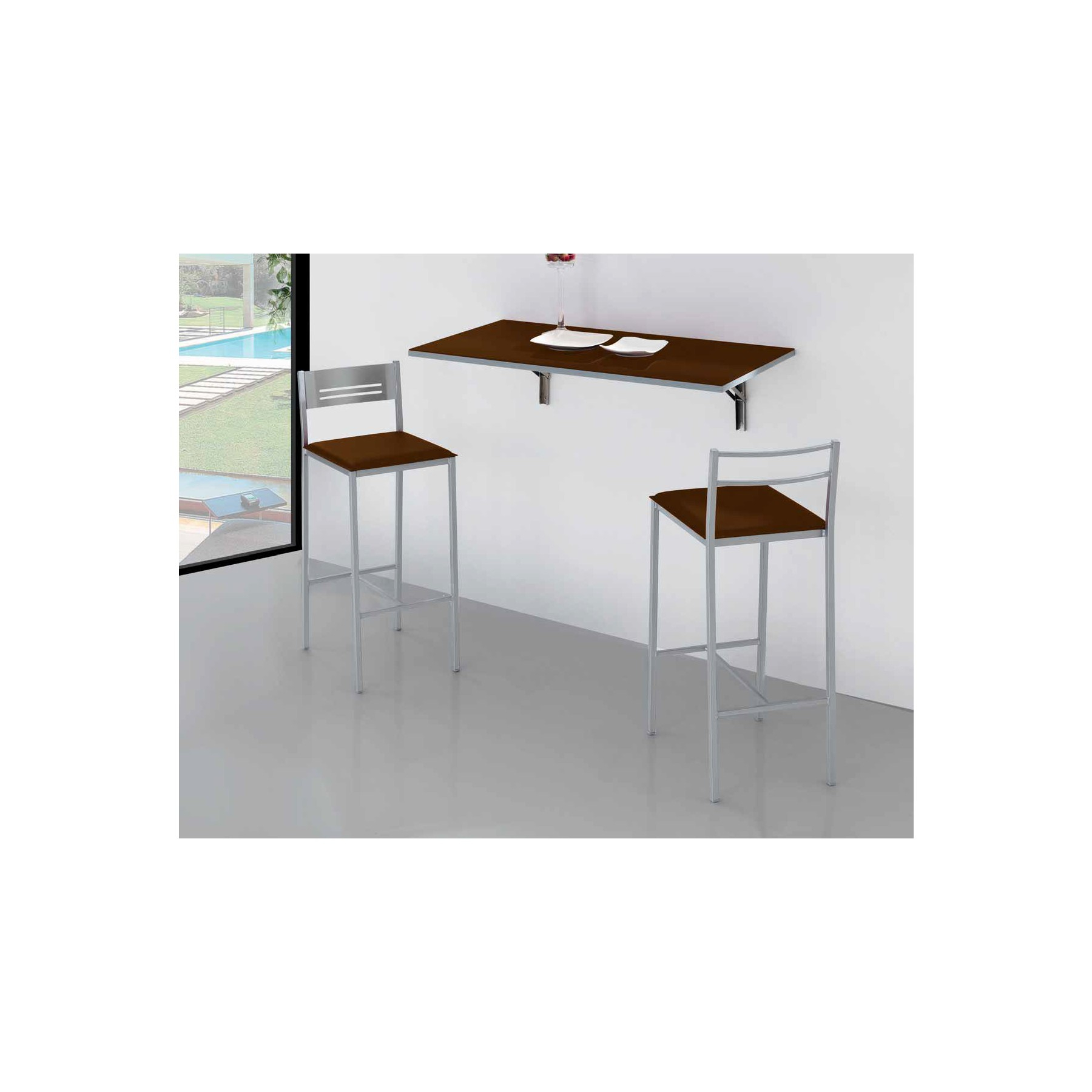 Mesa Plegable Pared Cocina Ffdn Mesa De Cocina De Pared Plegable Simple Dkg