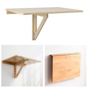 Mesa Plegable Pared Q5df Ikea norbo Mesa Abatible De Pared Abedul Cocina Escritorio Plegable