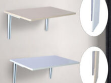 Mesa Plegable Pared U3dh Mesa Plegable De Pared Para Cocina Y Edor 60x40x1 5cm Mesa