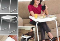 Mesa Portatil Cama Carrefour Bqdd Table Mate La Mesa Plegable Portà Til Anunciada En Tv