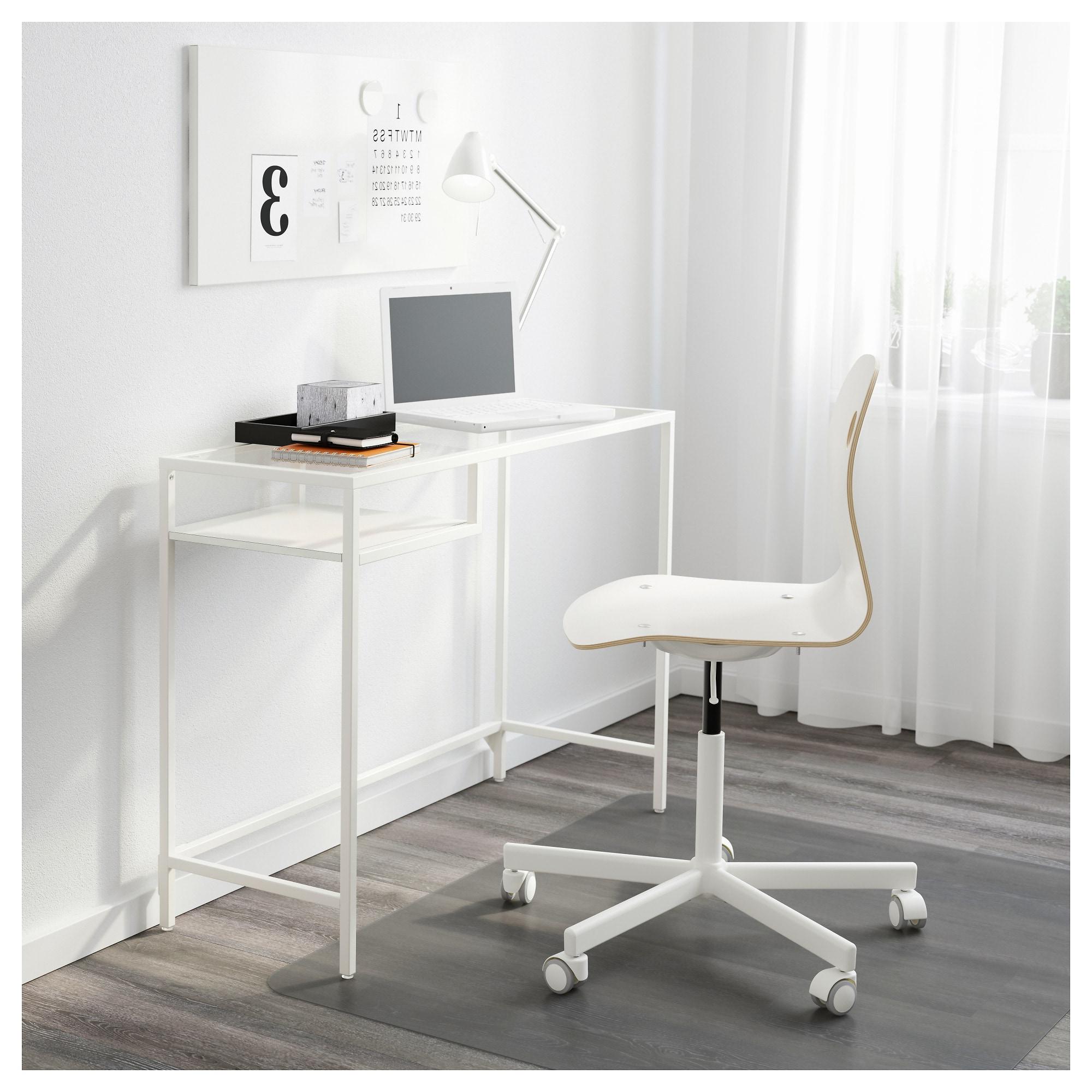 Mesa Portatil Whdr Vittsjà Mesa Para Portà Til Blanco Vidrio 100 X 36 Cm Ikea