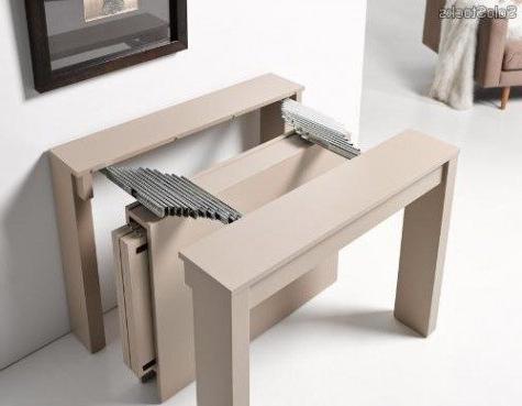 Mesa Salon Plegable H9d9 Mesas Plegables Edor 8 Recibidor Convertible En Mesa De Edor