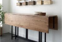 Mesa Salon Plegable J7do Pin De Lety Lasso En Hogar En 2019 Pinterest Space Saving Dining