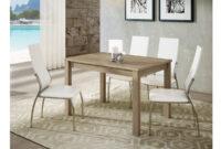 Mesa Salon Q5df Mesa De Edor Extensible Lateral Con Tablero De Melamina