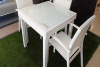 Mesa Terraza Extensible Thdr Mesa De Exposicià N Extensible Muebles De Aluminio Y Fibra