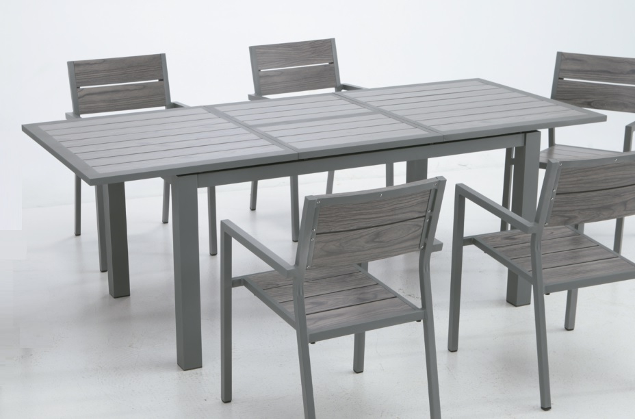 Mesa Terraza Extensible Xtd6 Mesa De Terraza Y Jardin Extensible Aluminio Lamas Suez 150