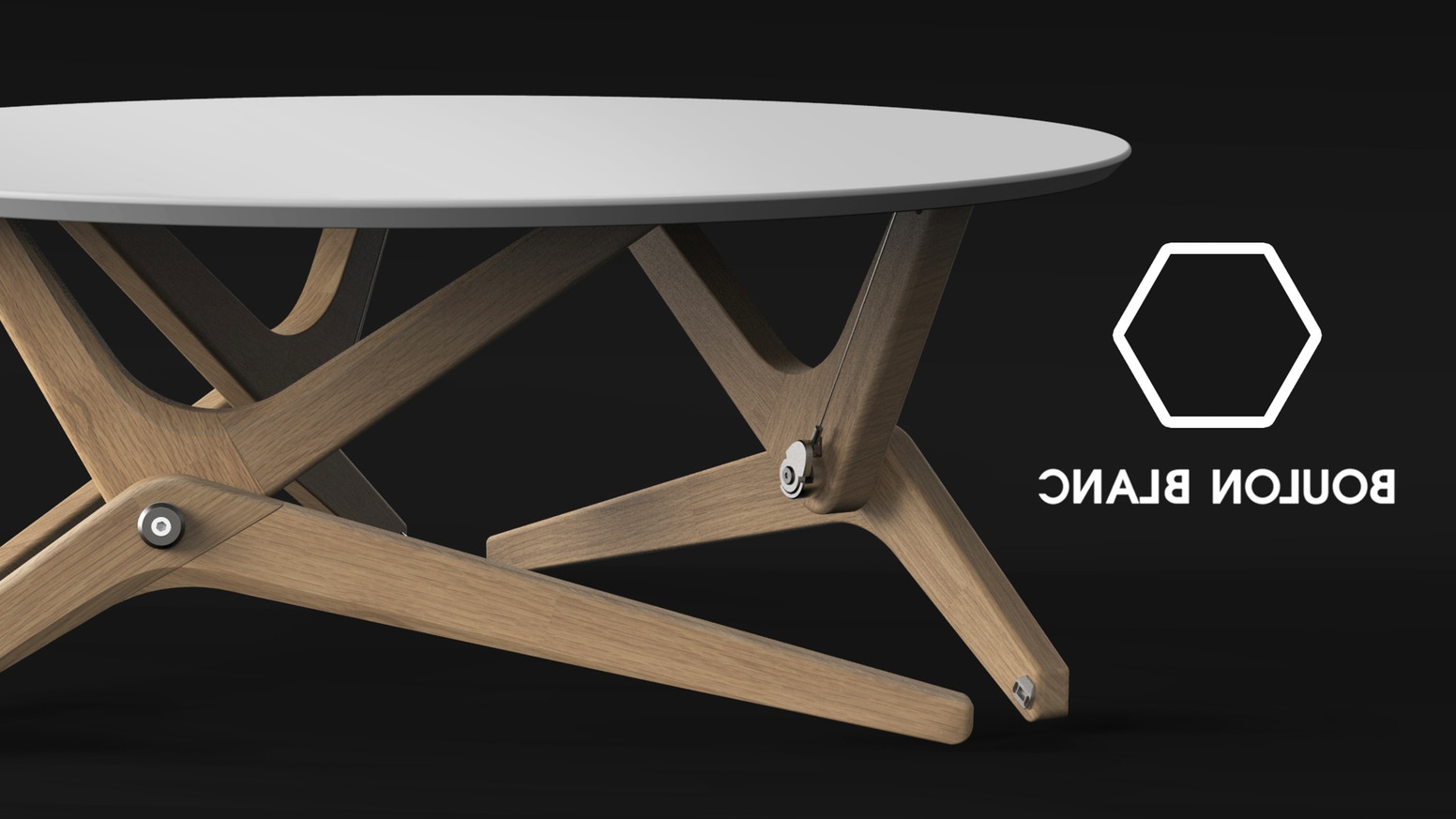 Mesa Transformable E9dx Boulon Blanc the Next Generation Of Transformable Tables by Boulon