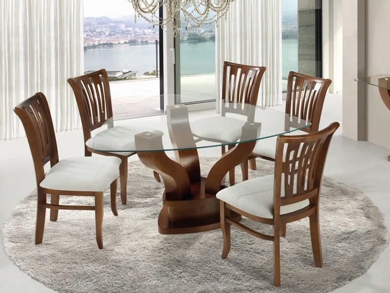 Mesa Triangular 9ddf Conjunto Mesa De Jantar Bom Lar Verona 06 Cadeiras 1 40 X 1 40