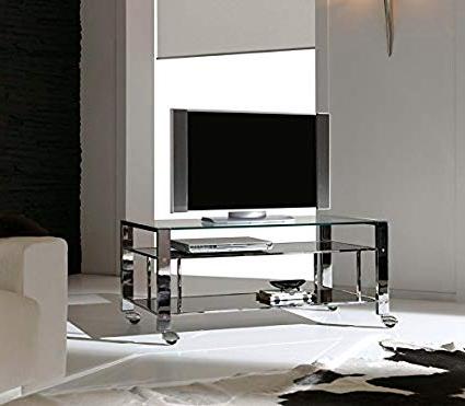 Mesa Tv Con Ruedas Fmdf Mesa De Tv Con Ruedas Mod Milan Tv 120x45x50h Cm Hogar