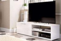Mesa Tv Ftd8 Mesa Tv Blanco Muebles Boom