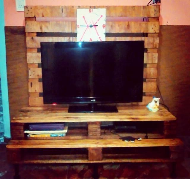 Mesa Tv Palets Bqdd Mesa Tv Palets Oferta 1 000 00 En Mercado Libre