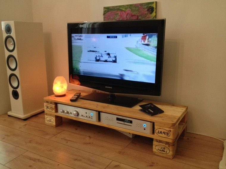 Mesa Tv Palets E6d5 Imagenes Con Ideas Para Hacer Muebles Con Palets Para El Living