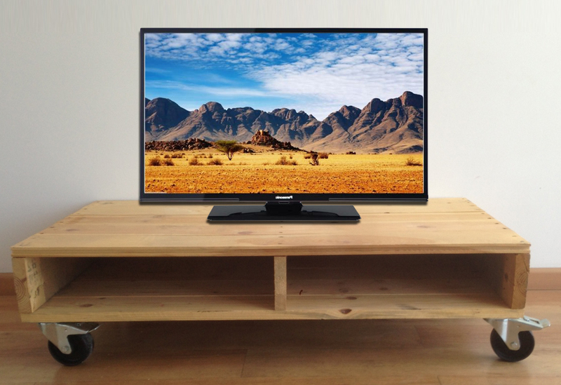 Mesa Tv Palets Ftd8 Mesa Tv Palet Con Ruedas 115x55x28 Reftvr