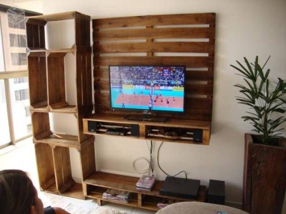 Mesa Tv Palets J7do Aquà Tenà is Una Buena Manera De Crear Un Mueble Para La Tv