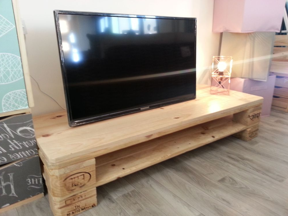 Mesa Tv Palets Q5df CÃ Mo Hacer Un Mueble Para La Tele Con Palets Leroy Merlin