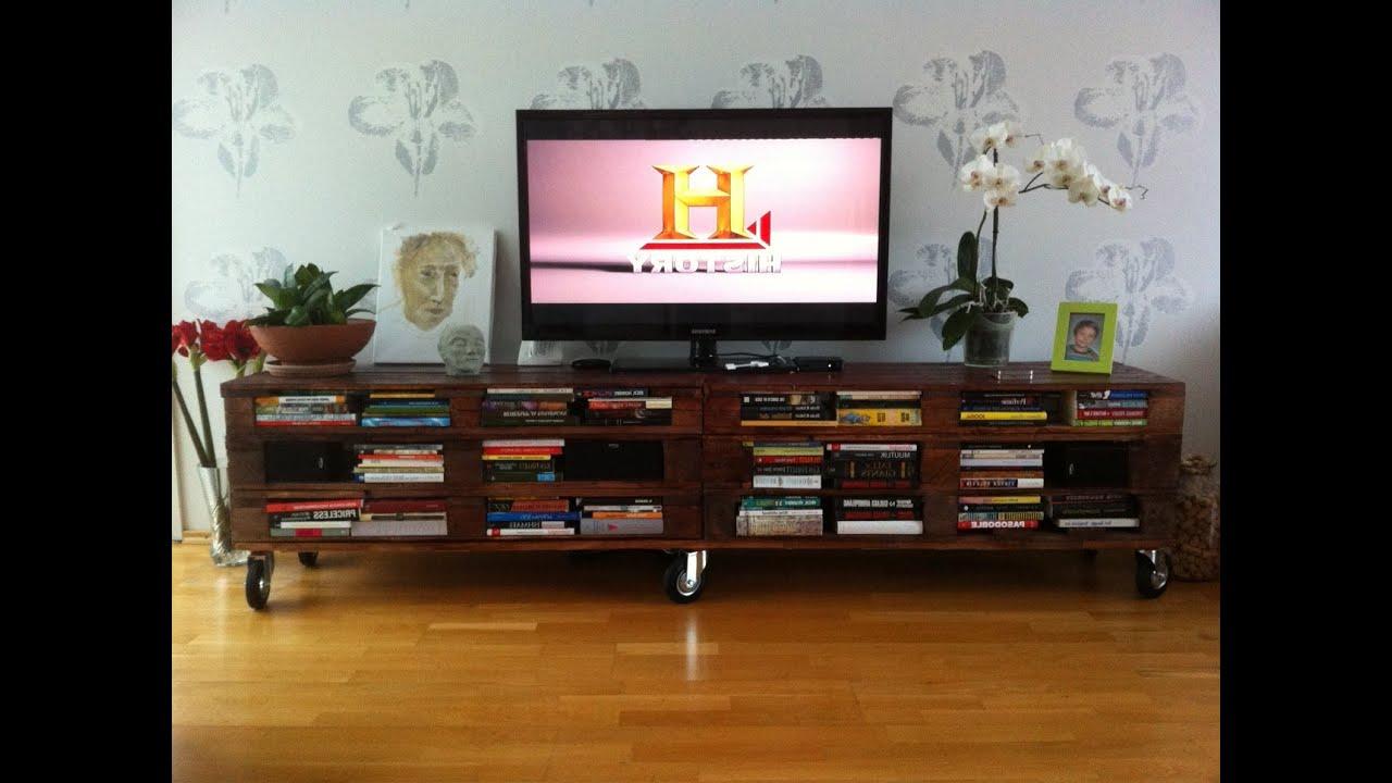 Mesa Tv Palets X8d1 Recopilatorio Mesas Tv Con Palets Diy Principiantes Tv Table