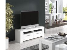 Mesa Tv Thdr Mesa Tv Color Blanco