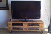 Mesa Tv Wddj Banco Mesa Tv De Palet Pallet Multifuncion Con Ruedas 699 00