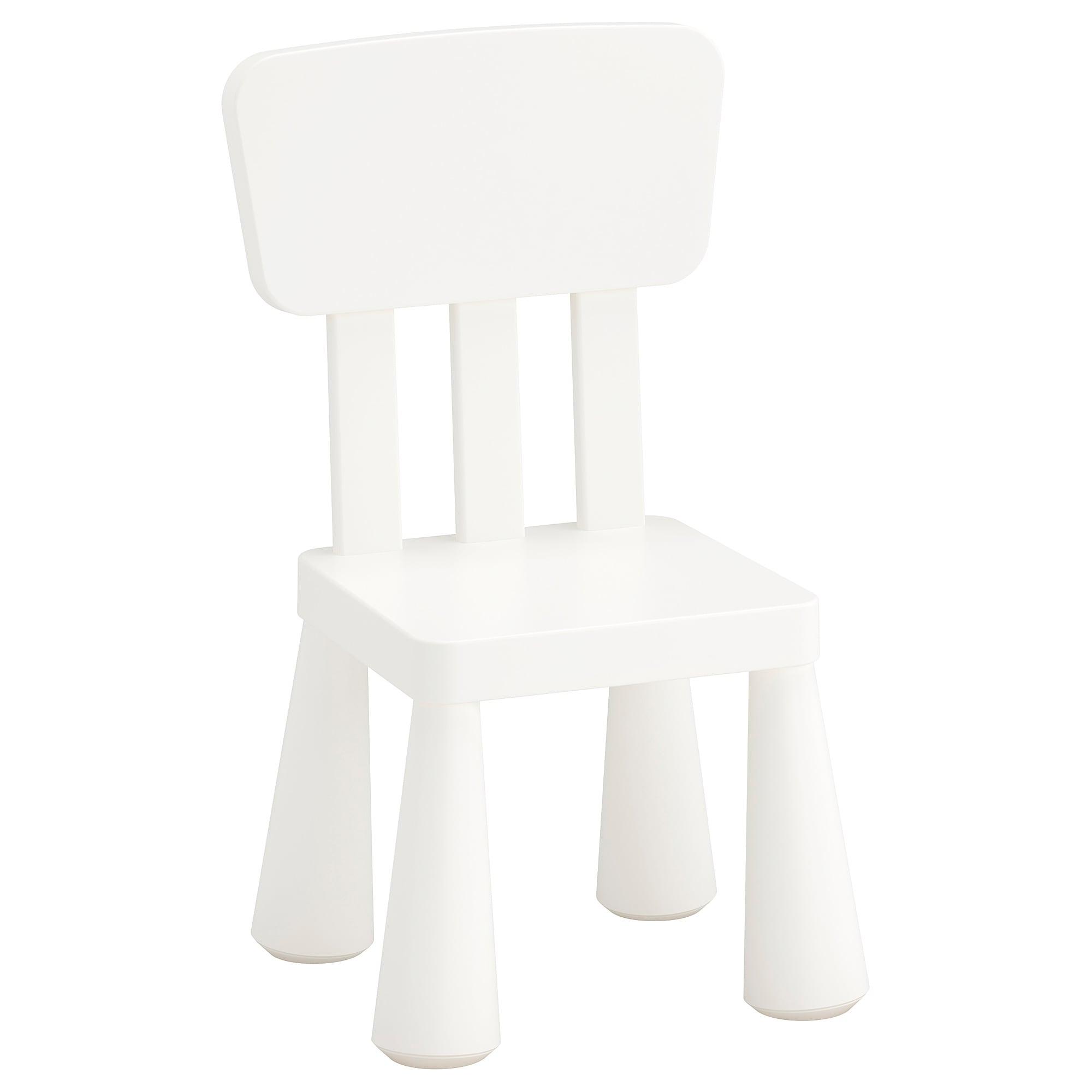 Mesa Y Sillas Para Balcon Pequeño 8ydm Mammut Silla Para Nià O Int Ext Blanco Ikea