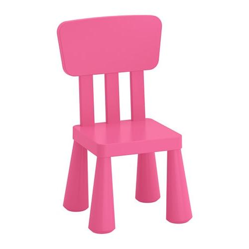 Mesa Y Sillas Para Balcon Pequeño X8d1 Mammut Silla Para Nià O Int Ext Rosa Ikea