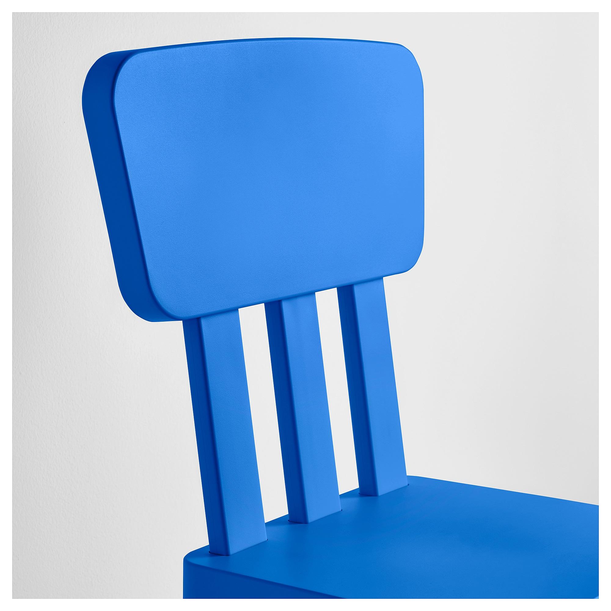 Mesa Y Sillas Para Balcon Pequeño Zwdg Mammut Silla Para Nià O Int Ext Azul Ikea