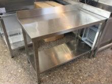 Mesas De Acero Inoxidable De Segunda Mano Nkde Segunda Mano Mesas Estanterias Inox Ost Cooking Systems